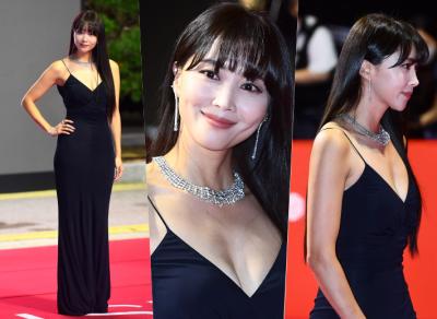 원조 레이싱걸의 위엄, 오윤아 완벽한 몸매