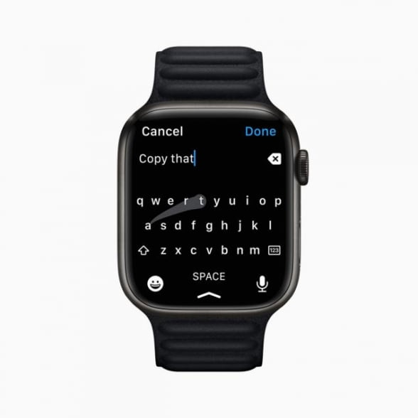 '애플워치 7', 화면 20% 커지고 충격·먼지·물 내구성 개선 [사진=애플 제공]