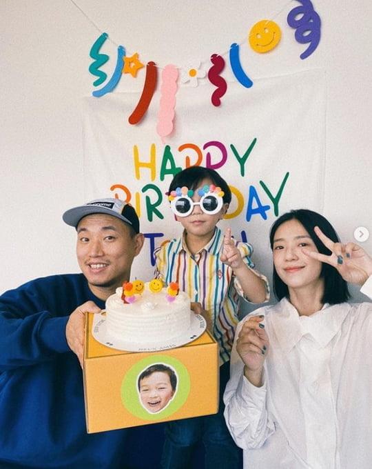 개리, ♥10살 연하 아내와 子 하오 생일 축하 파티 [TEN★]