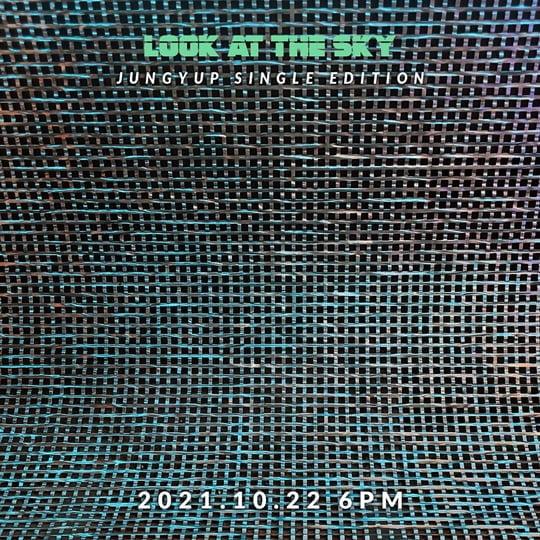 브아솔 정엽, 세 번째 싱글 에디션 'Look at the Sky' 22일 발매