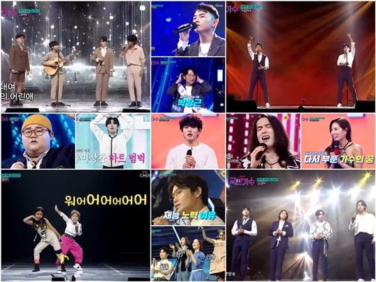 '국민가수' 순간 최고 15.5%, 3주 연속 전 채널 주간 예능 시청률 1위