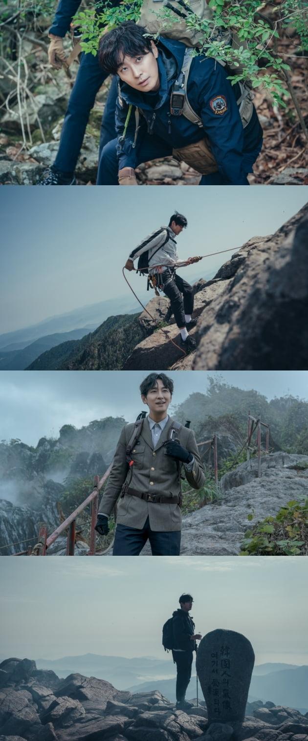 '지리산' 주지훈/ 사진=tvN 제공