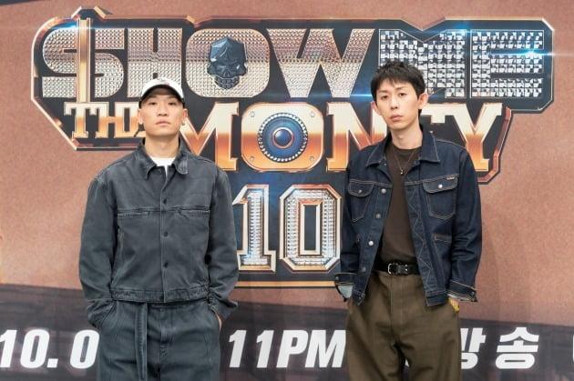 '쇼미더머니10' 개코(왼쪽)와 코드쿤스트 / 사진=Mnet 제공