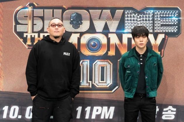'쇼미더머니10' 염따(왼쪽)와 토일 / 사진=Mnet 제공