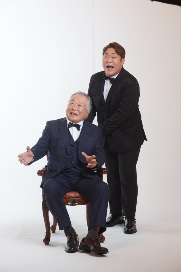 배우 주현(왼쪽), 개그맨 문세윤. /사진제공=KBS