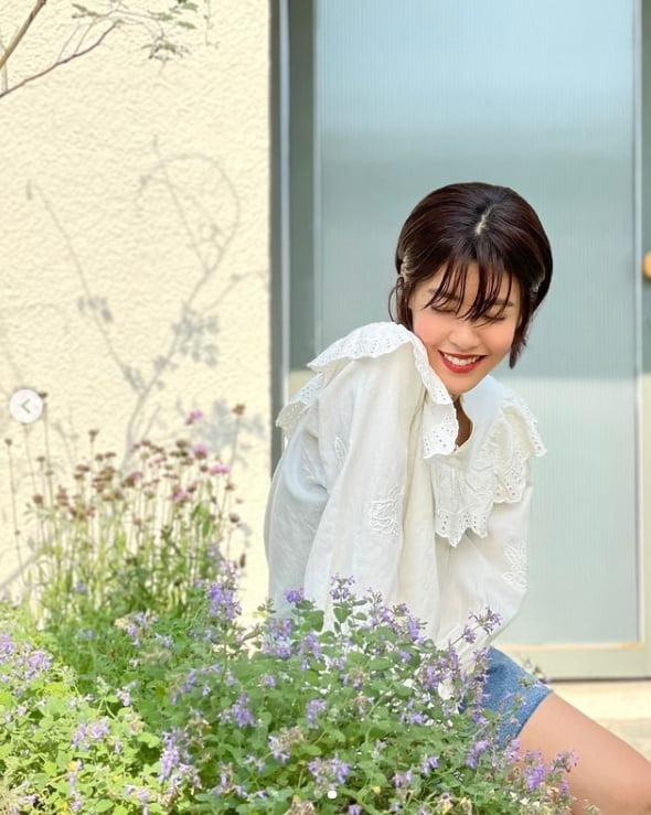 '치과의사♥' 이윤지, 파격적인 시스루 의상...이 미모 단발병 부른다[TEN★]