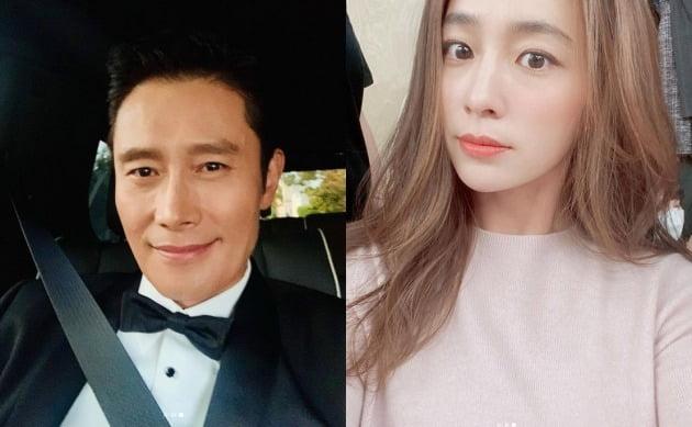 이병헌-이민정 부부 / 사진=이병헌, 이민정 인스타그램