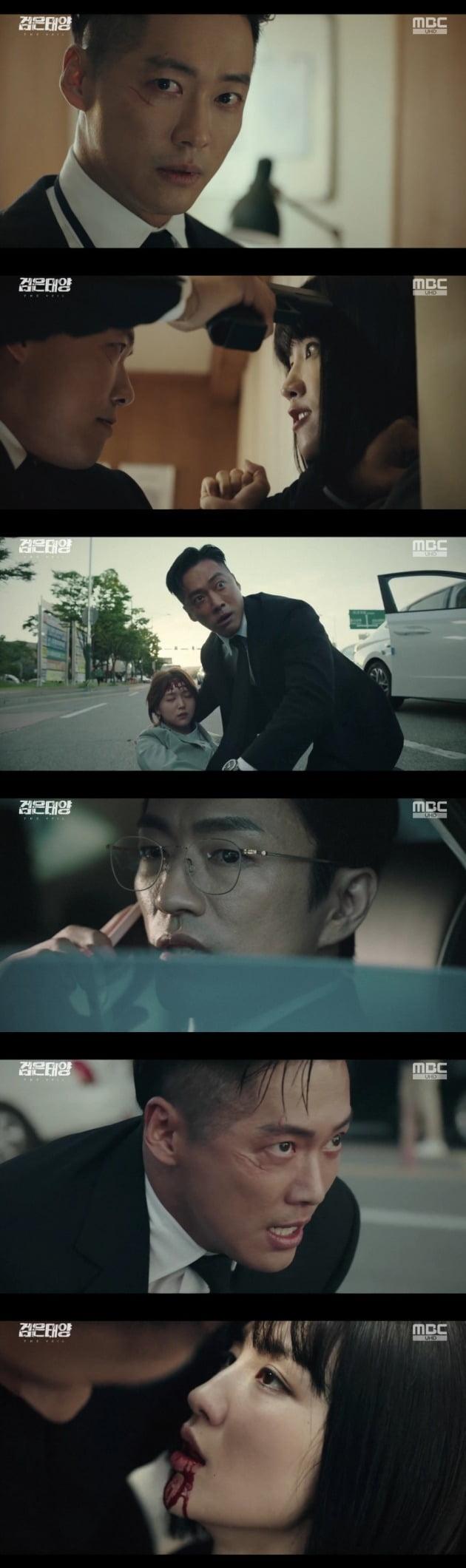 '검은 태양' 방송 화면./사진제공=MBC