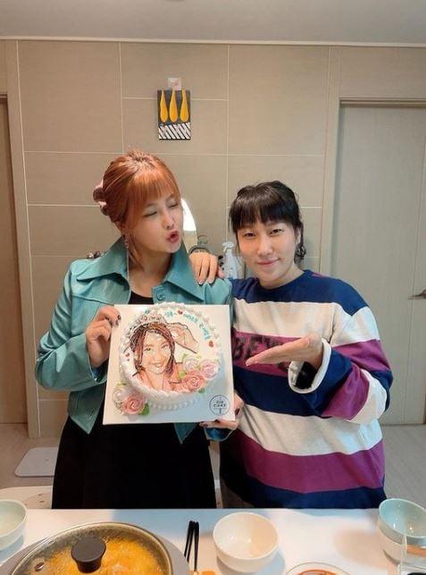 /사진=김영희 인스타그램