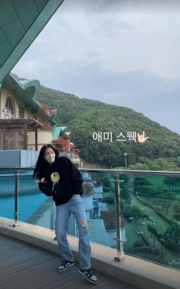 """'정조국♥' 김성은, """"애미 스웩"""" 아들 낮잠 타임에 신난 애셋맘 [TEN★]"""