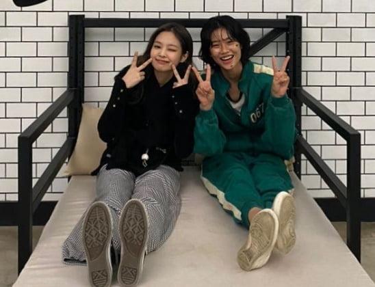'오징어게임' 정호연, 송혜교도 제쳤다…팔로워 1300만 돌파 [TEN★]