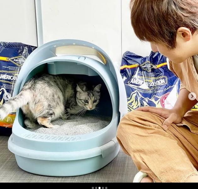 기안84, 마음이 따뜻한 집사와 고양이...고양이랑 닮았다[TEN★]