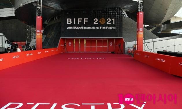 [BIFF]'오프라인 강행' 제26회 부국제, 한산한 개막날 아침