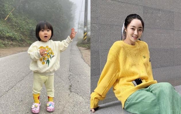 """서효림♥정명호 딸, 갈수록 할머니 김수미 판박이…""""아들 아님 딸"""" [TEN★]"""