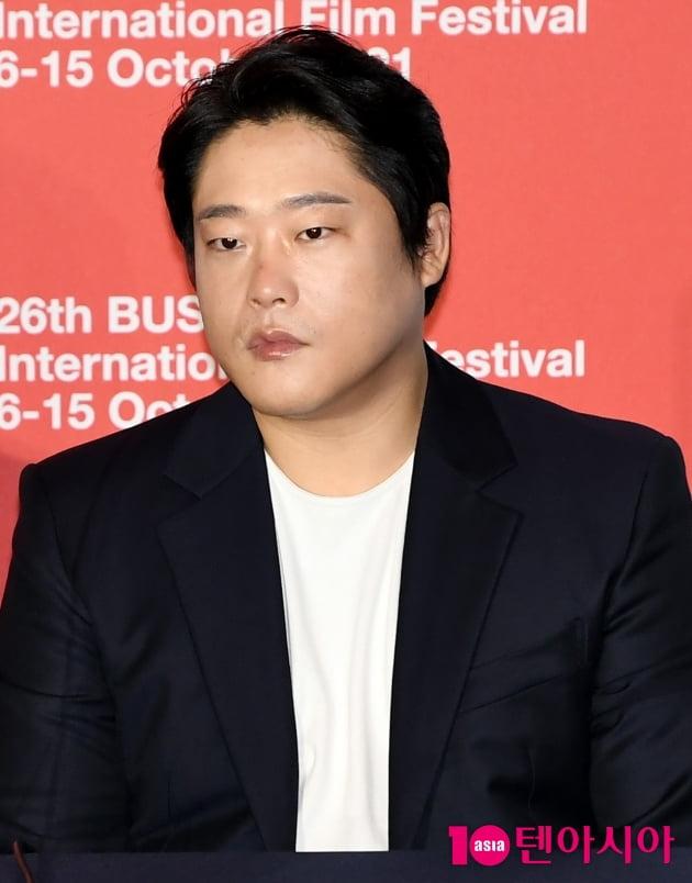 [TEN 포토] 임성재 '떨리는 BIFF 개막작 기자간담회 참석'