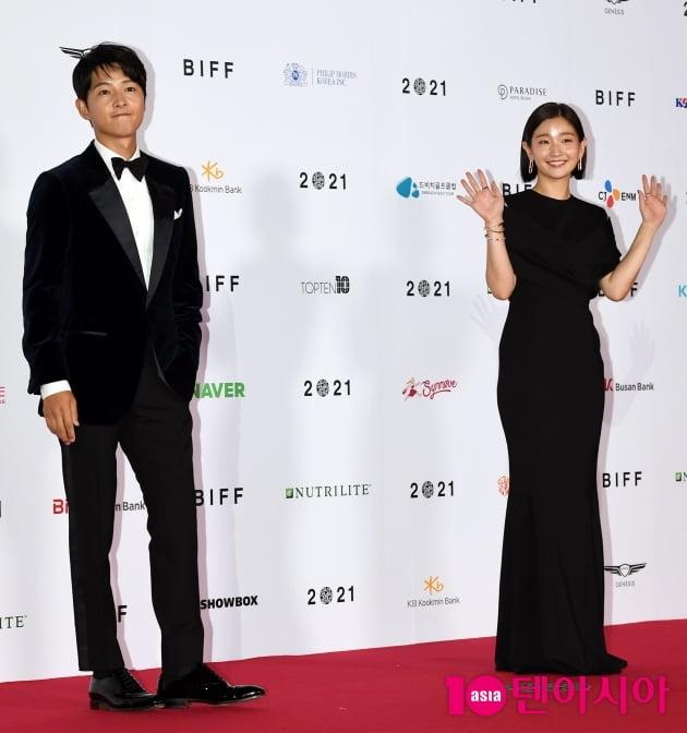 [TEN 포토] 송중기-박소담 '부산국제영화제 2MC 입니다'(BIFF)