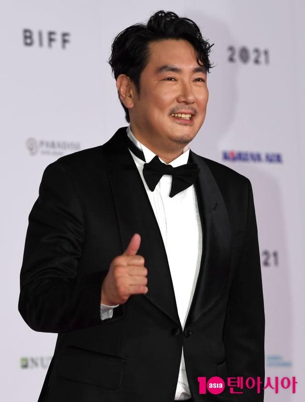 [TEN 포토] 조진웅 '부산국제영화제 엄지척'(BIFF)