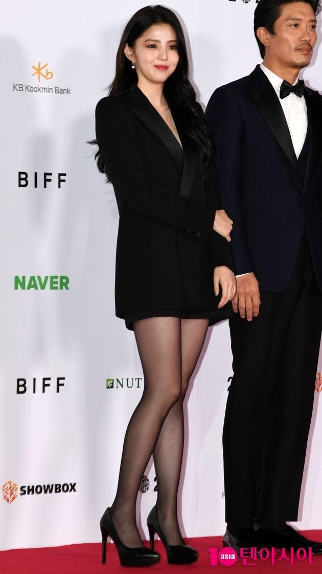 [TEN 포토] 한소희 '청순미 갑'(BIFF)