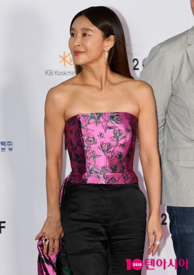 [TEN 포토] 예지원 '화려한 드레스'(BIFF)
