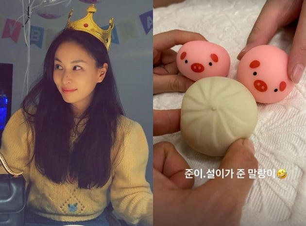 '장동건♥' 고소영, 아들·딸이 준 생일 선물='초딩 인싸템' 말랑이…'폭소' [TEN★]