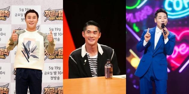 '공생의 법칙' 김병만(왼쪽부터), 배정남, 박군/ 사진=SBS 제공