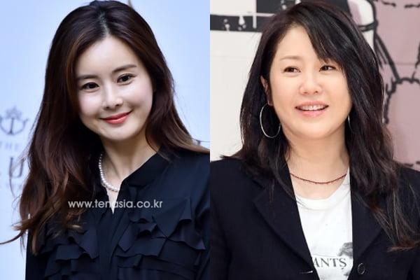 배우 최정윤(왼쪽)과 고현정/ 사진=텐아시아DB