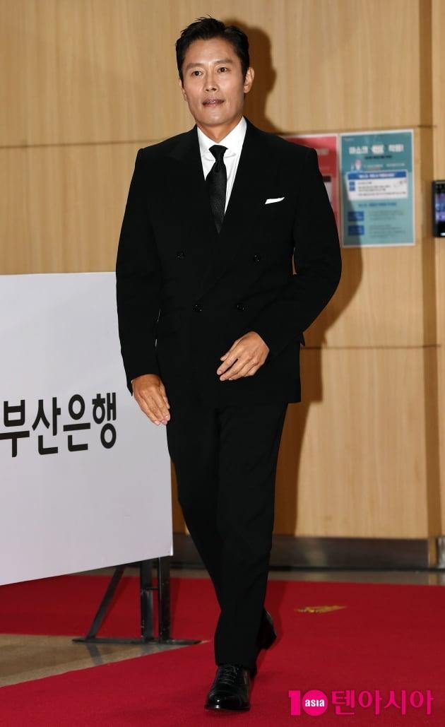 [TEN 포토] 이병헌 '부산에 온 월드스타'