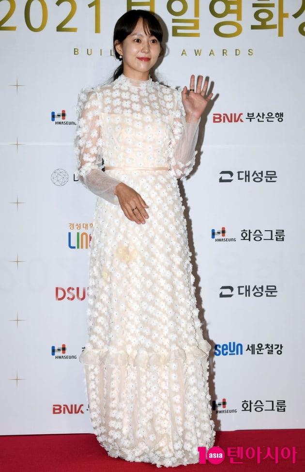 [TEN 포토] 유다인 '꽃이 빛나는 드레스'