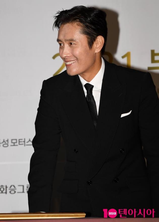 [TEN 포토] 이병헌 '여유 넘치는 미소'