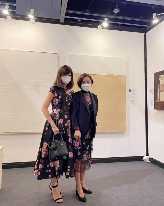 """'홍콩 부촌 거주' 강수정, 값비싼 그림이라도 샀나…""""멋진 작품들"""" 고상한 취미 [TEN★]"""