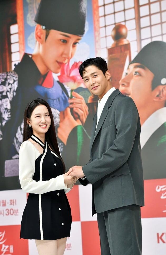 박은비, 로운./사진제공=KBS2 '연모'