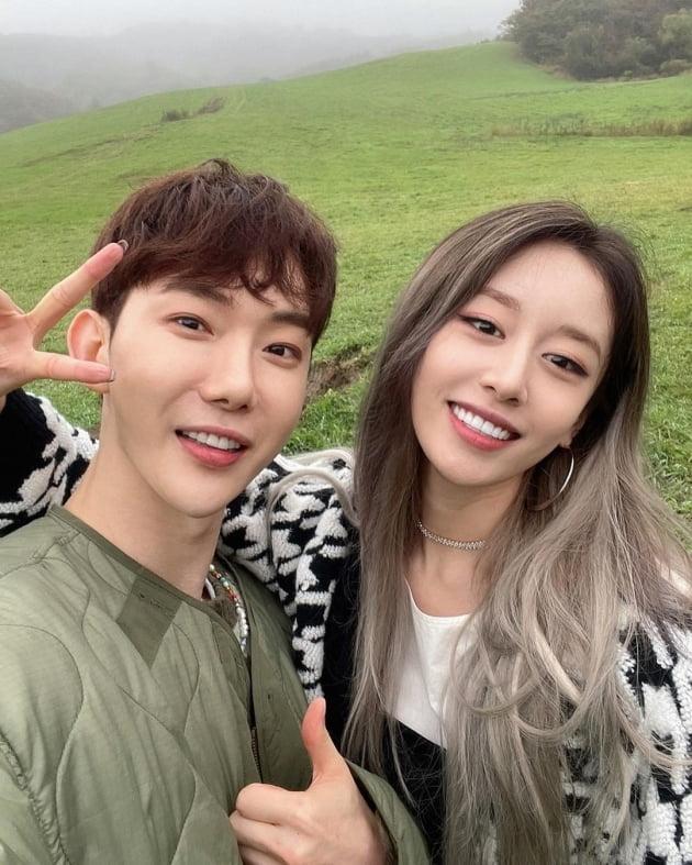 티아라 지연과 2AM 조권/ 사진=인스타그램