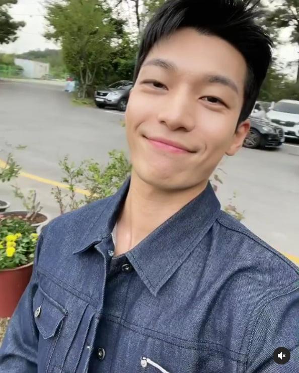 '오징어 게임' 위하준, 러블리 미소...언제나 스마일~[TEN★]