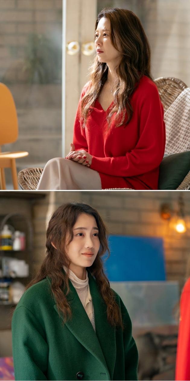 '너를닮은사람' 고현정(위),신현빈/ 사진=JTBC 제공