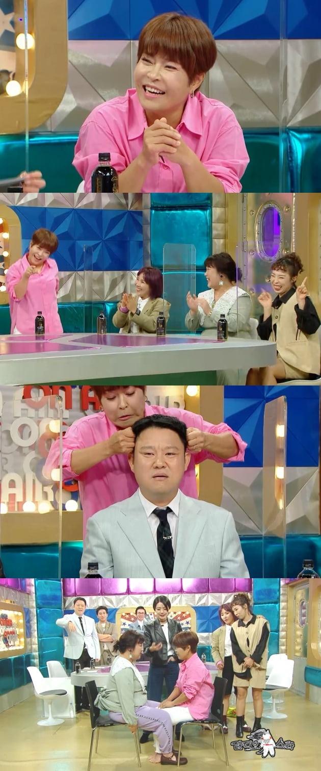 '라디오스타' 조혜련/ 사진=MBC 제공