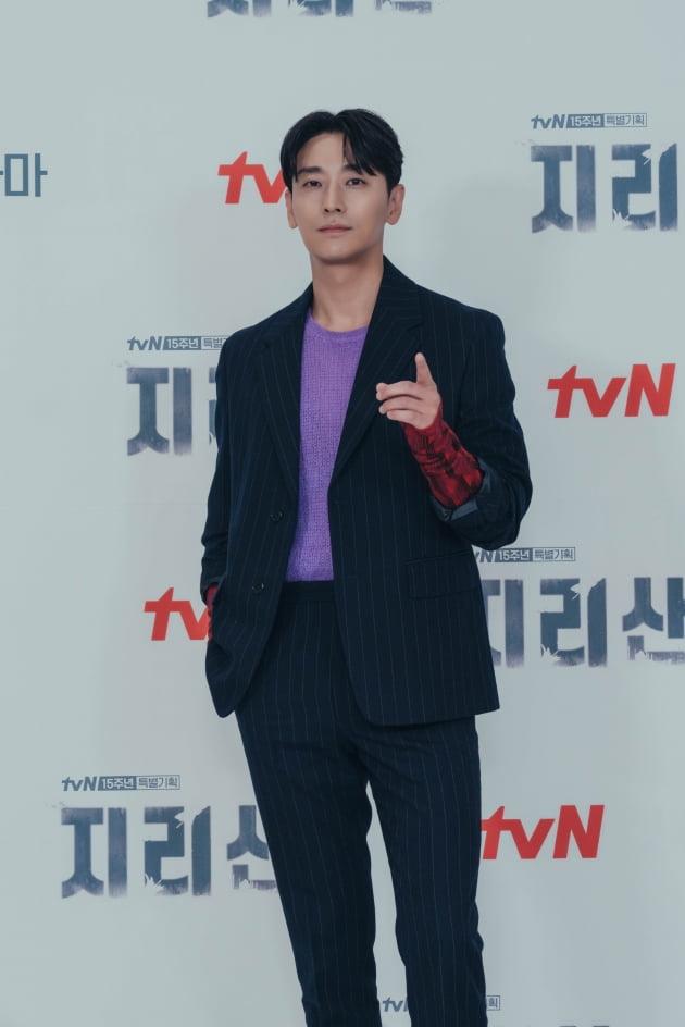 배우 주지훈이 13일 오후 온라인 생중계된 tvN 새 토일드라마 '지리산' 제작발표회에 참석했다. /사진제공=tvN