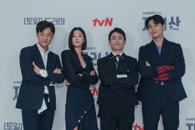 조한철, 전지현, 오정세, 주지훈. /사진제공=tvN