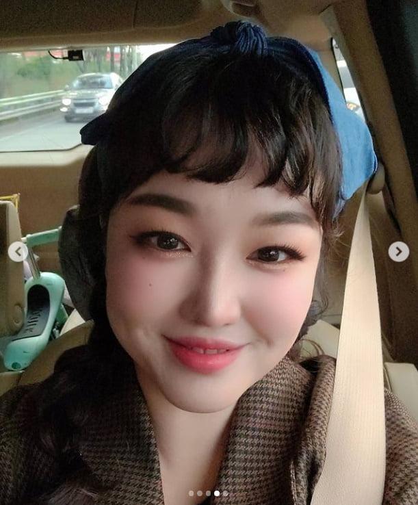 '4남매맘' 정미애, 클로즈업 하니 송혜교 닮았네[TEN★]