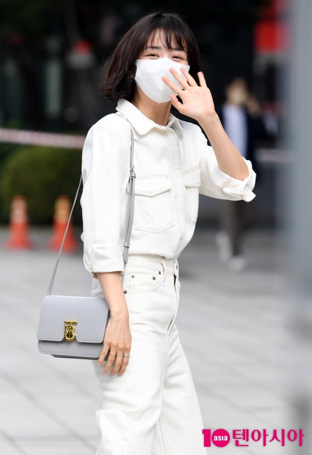 [TEN 포토] 박하선 '하얀태양 가요'