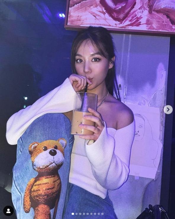 '꼭지' 김희정, 점점 더 과감해지는 섹시美...이국적 미모[TEN★]