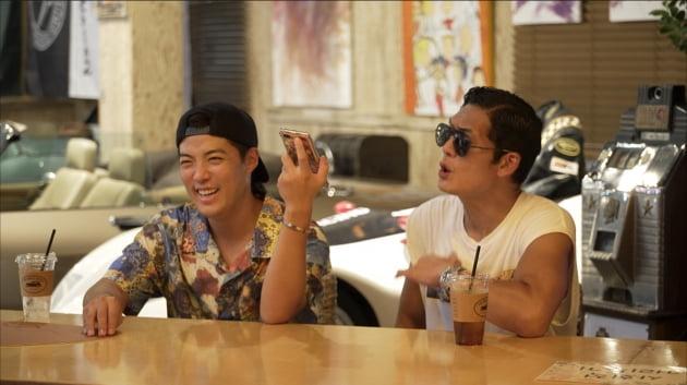 '해방타운' 강남(왼쪽)과 박준형/ 사진=JTBC 제공