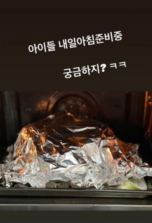 """'한재석♥' 박솔미, """"아버님 가져다드릴 방개묵""""을 직접 만든 솜씨…똑순이 며느리 [TEN★]"""