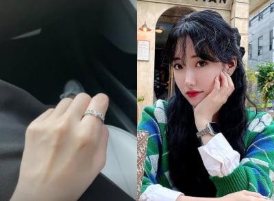 '26세 싱글맘' 배수진, 왼쪽 손에서 반짝이는 하트 반지…영롱한 빛깔 [TEN★]