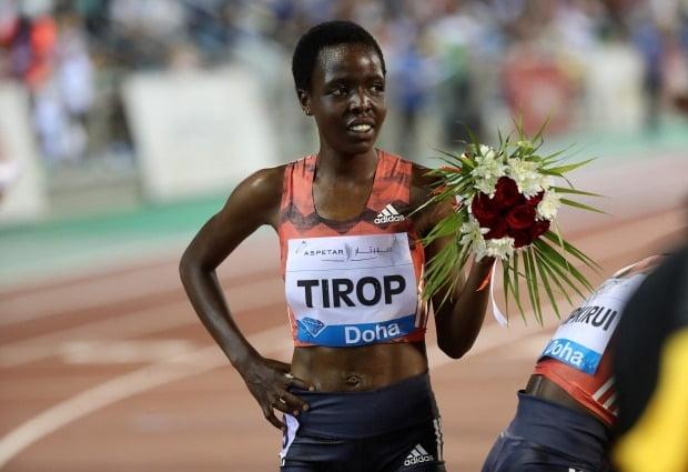 케냐의 육상선수 아그네스 제벳 티롭 /사진=AFP