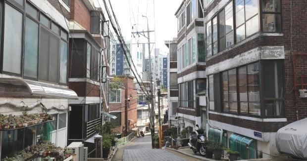 서울 시내 빌라촌 전경. /뉴스1