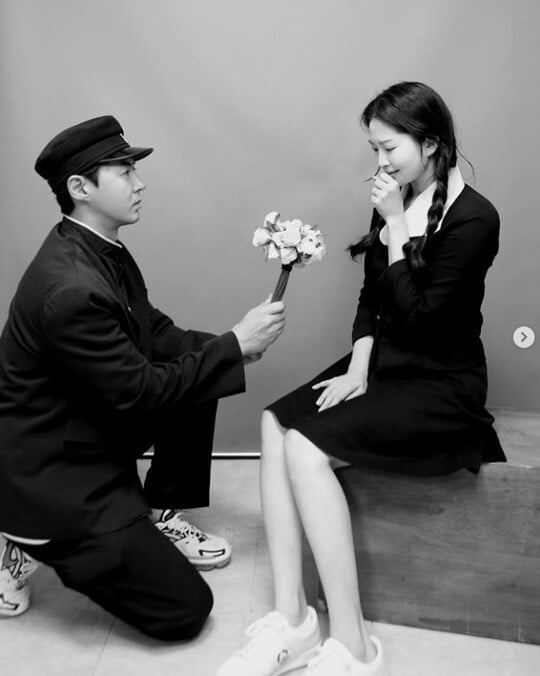 """전진♥류이서, 풋풋한 첫사랑 비주얼 """"남자의 고백으로 사랑 이루어져"""""""