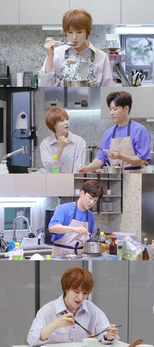 거미, 절친 정상훈 지원사격…♥조성석 반한 요리 실력 최초 공개 ('편스토랑')