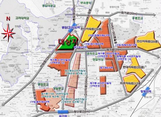 [얼마집]동대문구 제기5구역, 재개발구역 해제