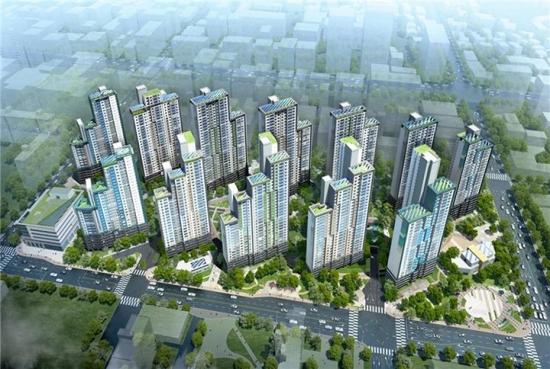 삼성물산이 서울 서초동 서초우성1차를 재건축해 분양하는 '래미안리더스원' 조감도. 삼성물산 제공
