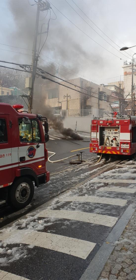 서울 충정로 KT 화재…인터넷·전화 안돼
